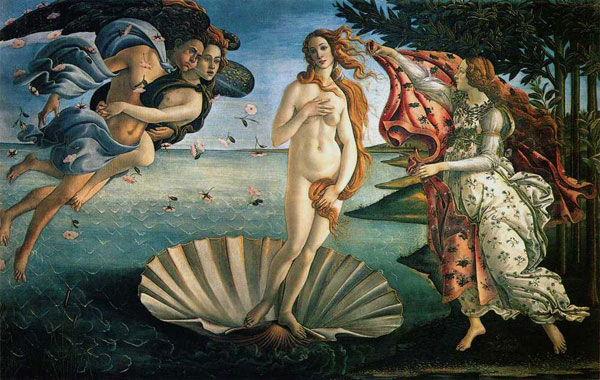 Sandro Botticelli's Birth of Venus